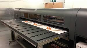 Scitex flatbed printer
