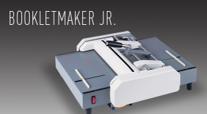 picture of mbm bookletmaker jr semi-automatic booklet maker