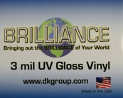 D&K Brilliance Gloss UV Vinyl Laminate