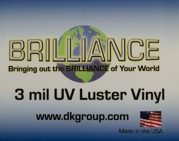 D&K Brilliance Luster Vinyl UV Pressure Sensitive Laminate