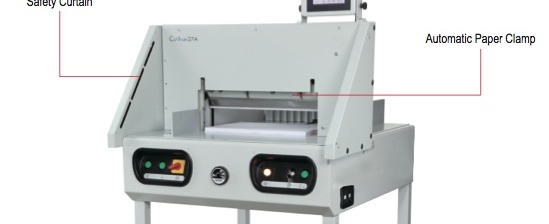 cut true electric paper cutter from Formax