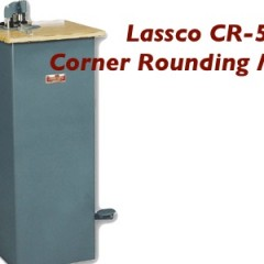 Lassco CR-50 Manual Corner Rounding Machine (CR-50)