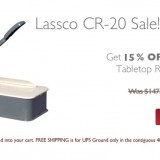 Round Corner Cutter Sale at Lloyds of Indiana