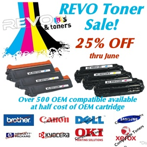OEM Toner Cartridges on sale