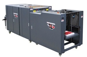 "Tec Lighting 16"" Autofeed UV Coating machine"