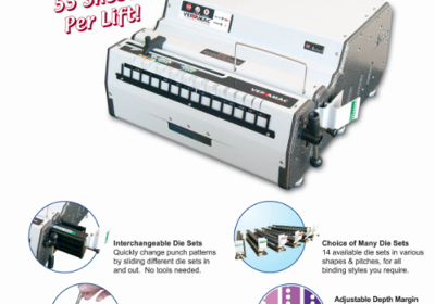 Commercial Binding Machine: Akiles Versamac Series
