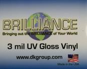 D&K Brilliance Gloss UV Vinyl Laminate