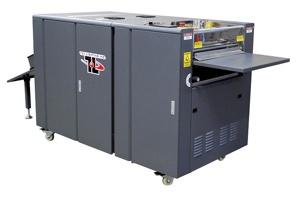 Dual Reservoir UV Coating machine
